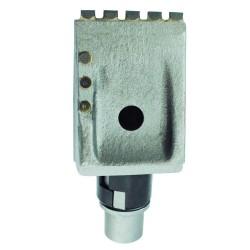 Flachzahn XFZ162/38: 70x100x63 mit Hartmetall Bits (~BFZ162)